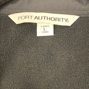 Port Authority Jackets & Coats - Black waterproof lightweight jacket.